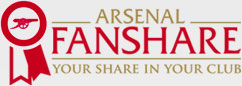 Arsenal Fanshare. Your share in your club.
